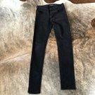 EUC Silence + Noise Dark Plum Skinny Leg Mid Rise Jeans SZ 26