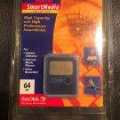 NIP 64 MB MEG SMART MEDIA SM MEMORY CARD OLYMPUS D-510 D-520 D-550 ZOOM CAMERA
