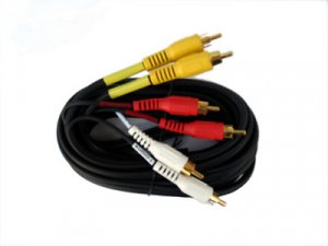 6 Foot Triple RCA Audio Video Cable