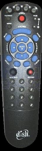 Dish Network Blue Button IR Remote Control