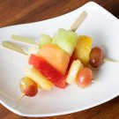 "100 Bamboo Paddle Picks Toothpicks Skewers - 6"""