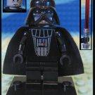 Genuine Authentic Star Wars Darth Vader Lego Minifigure + Lightsaber