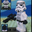Genuine Authentic Star Wars Stromtrooper Lego Minifigure + Custom Blaster E-11