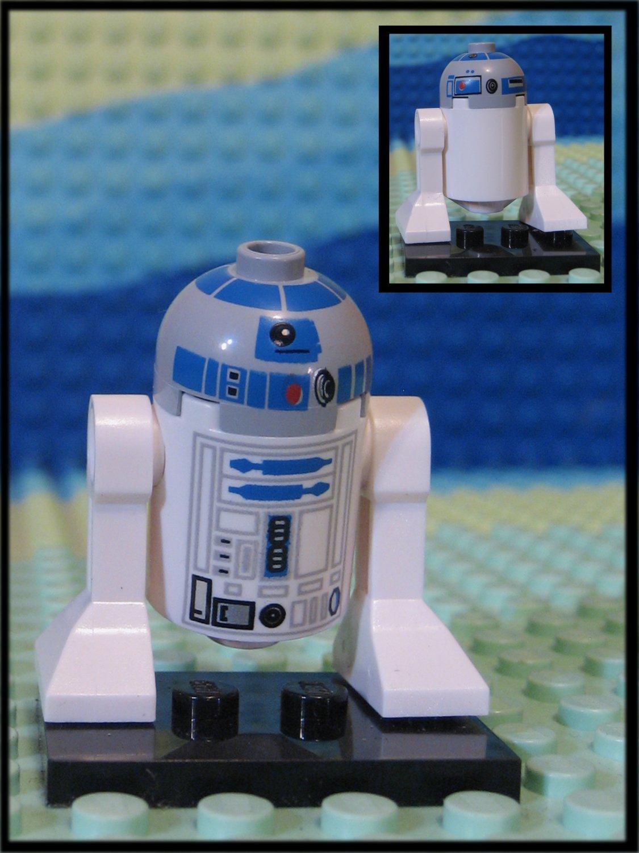 Genuine Authentic Star Wars Lego R2-D2