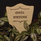 'COSTA FORTUNII' Humor in the Garden MARKER Decor