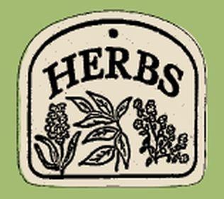 'HERBS' Weatherproof-Everlasting Plaque SIGN
