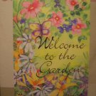 GARDEN FLAG 28x40- Garden Welcome - TOLAND