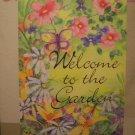 GARDEN FLAG 28x40- Garden Welcome - TOLAND