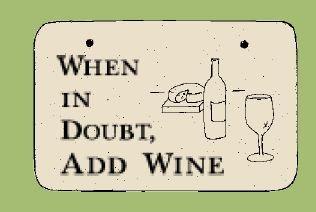 'WHEN IN DOUBT, ...' Weatherproof SAYINGS Sign/Plaque