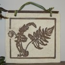 Elegant Home Garden Decor BOTANICALS Ferns STONEWARE