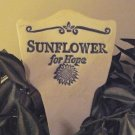'SUNFLOWER For Hope' Garden Lore MARKER Stoneware