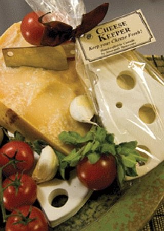 KEEP YOUR CHEESE FRESH! with your CHEESE KEEPER!