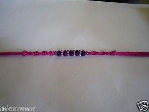 Purple Pearls Rakhi By Teknowear