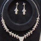 Catherine Fashionable CZ Necklace Set by Teknowear