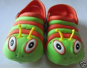 NewFashion Children Boy/Girls/Kids/Toddler's Cute Caterpillar Flat Sandals/Shoes