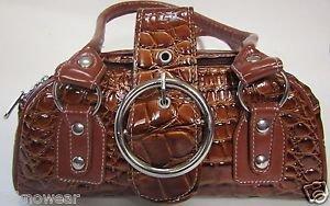 Crocodile Top-Handle Clutch/Evening Bag/Shoulder Bag from Teknowear