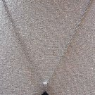 Crystal Star Pendant Necklace and Earrings Set in Black & Ivory Color