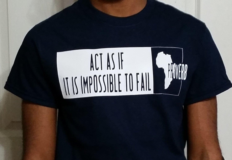 African Proverb T-Shirt