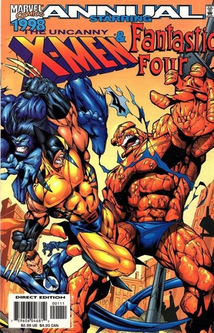 The Uncanny X-Men Annual 1998