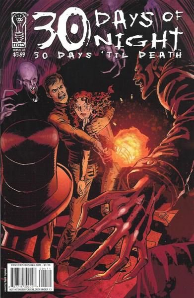 30 Days of Night: 30 Days Til Death #4
