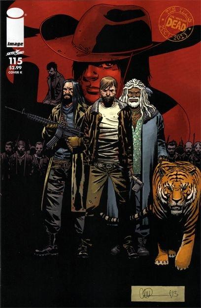 The Walking Dead #115 K