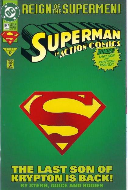 Action Comics, Vol. 1 #687 B