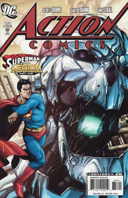Action Comics, Vol. 1 #858 B