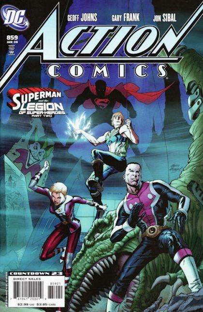 Action Comics, Vol. 1 #859 B