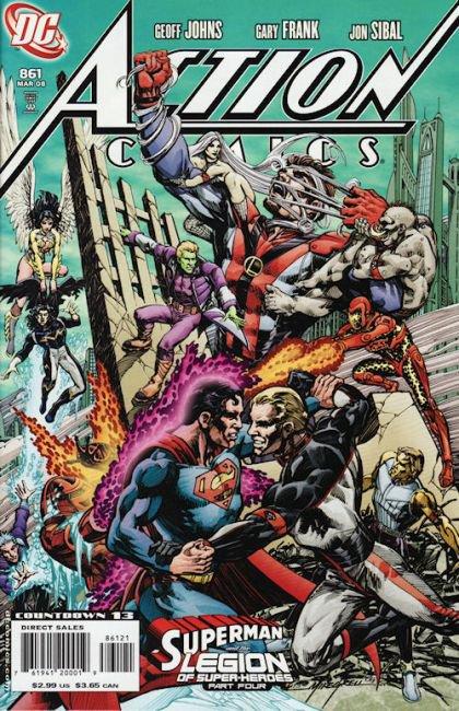 Action Comics, Vol. 1 #861 B