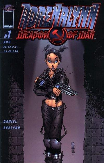 Adrenalynn: Weapon of War #1 B