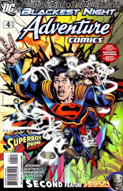 Adventure Comics, Vol. 3 #4 A