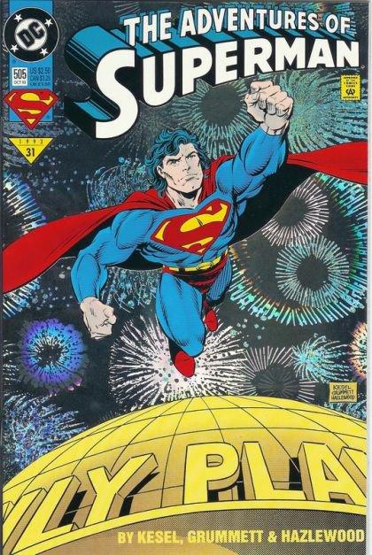 Adventures of Superman #505 B