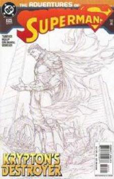 Adventures of Superman #625 B