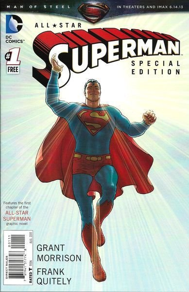 All Star Superman #1 E