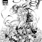 The Darkness, Vol. 1 #1 (Black and White Cover)