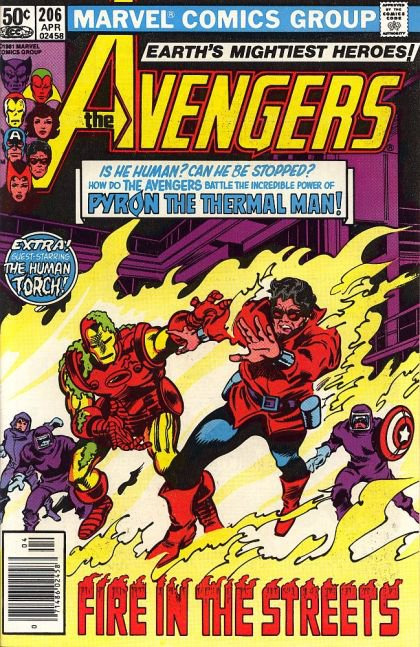 The Avengers, Vol. 1 #206