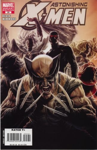Astonishing X-Men, Vol. 3 #25 (Bermejo Cover)