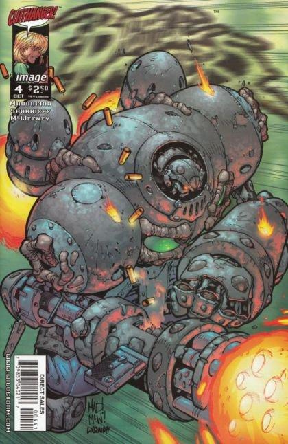 Battle Chasers #4 (War Golem Variant Cover)