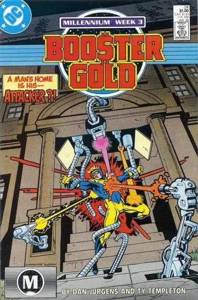 Booster Gold, Vol. 1 #24