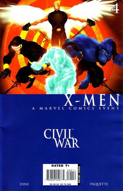 Civil War: X-Men #4