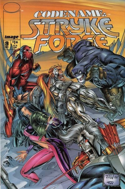 Codename: Stryke Force #9