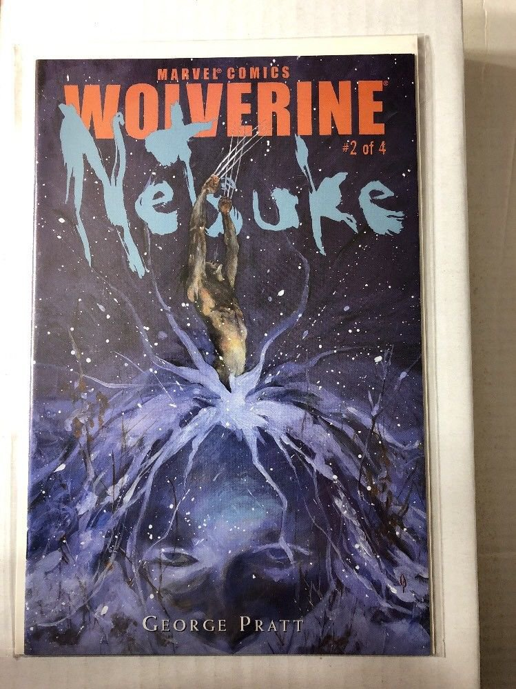 Wolverine Netsuke #2 First Print (2002)