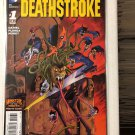 Deathstroke #1 First Print The New 52! Monster Cover