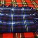 Active Men Scottish Heritage of Scotland Tartan 4way Purled & Fringed Fly Plaids 48 X 48