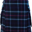 Mens Scottish Custom Size Highland Kilt Utility Traditional Mackenzie Tartan Kilt-Skirt