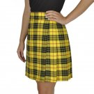 Macleod of Lewis Tartan Highland Scottish Mini Billie Kilt Mod Skirt 34 Size