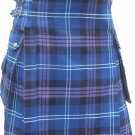 32 Size Pride Of Scottland Utility Tartan Kilt for Active Men Scottish Deluxe Utility Kilt