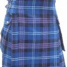 60 Size Pride Of Scottland Utility Tartan Kilt for Active Men Scottish Deluxe Utility Kilt