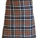 48 Size Scottish 8 Yard 10 Oz. Tartan Kilt in Camel Thompson Tartan Kilt Highland Traditional Kilt