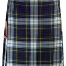 Ladies Full Length Kilted Skirt, 34 Waist Size Dress Gordon Tartan Pleated Kilt-Skirt